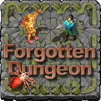 Hack 'n Slay RPG the forgotten Dungeon Logo
